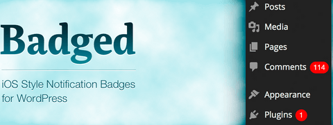 Badged - iOS Style Notification Badges for WordPress