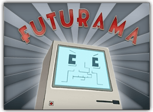 The Mac in Futurama